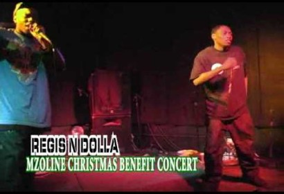 Blac Dolla and Regis Chrismas Benefit Performance